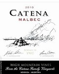 BODEGA CATENA ZAPATA HIGH MOUNTAIN VINES MALBEC  2016