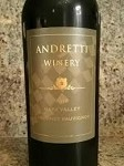 ANDRETTI WINERY NAPA VALLEY  CABERNET SAUVIGNON 2012