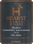 HEARST RANCH WINERY BUNKHOUSE PASO ROBLES CABERNET SAUVIGNON 2015