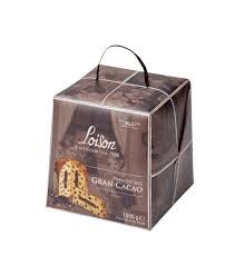PANETTONE GRAN CACAO BY LOISON