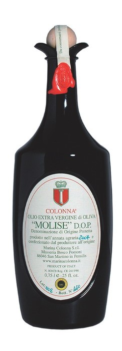 D.O.P. EXTRA VIRGIN OLIVE OIL MOLISE BY COLONNA