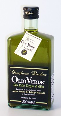 EXTRA VIRGIN OLIVE OIL OLIO VERDE BY GIANFRANCO BECCHINA