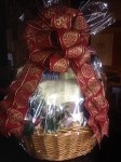 HOLIDAY NAPOLI GOURMET GIFT BASKET BY ANACAPRI