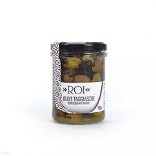 TAGGIASCHE PITTED OLIVES BY ROI