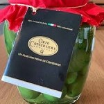 GREEN CERIGNOLA OLIVES BY ORTO CONSERVIERA