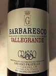 FRATELLI GRASSO VALLEGRANDE BARBARESCO 2005