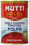 FINELLY CHOPPED ITALIAN TOMATOES BY MUTTI