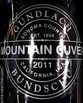 GUNDLACH BUNDSCHU MOUNTAIN CUVEE SONOMA COUNTY 2012