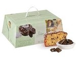 COLOMBA WITH CHOCOLATE CHIPS IN A BOX  BY LOISON